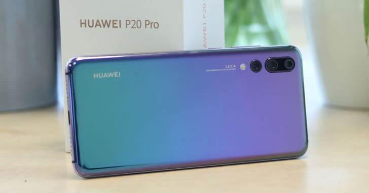 Huawei P20 Pro продается лучше, чем Huawei P10 Plus