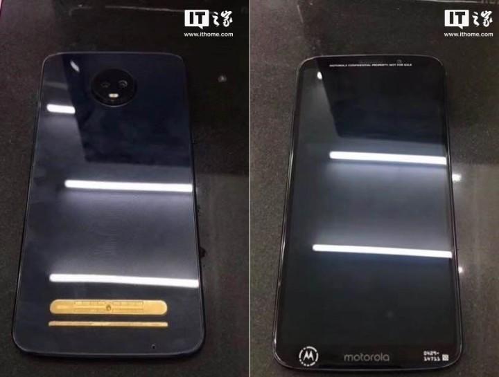 Смартфон Moto Z3 Play показали на реальных фотографиях