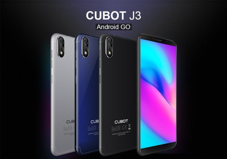 Cubot готовит смартфон на базе Android Go