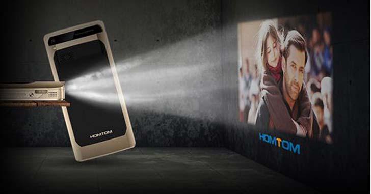 Готовится к выходу смартфон HomTom P1 с HD-проектором