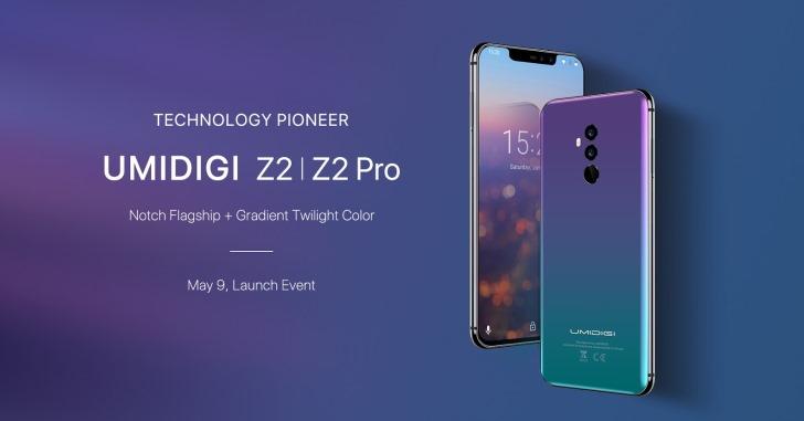 Umidigi представила смартфоны Z2 и Z2 Pro