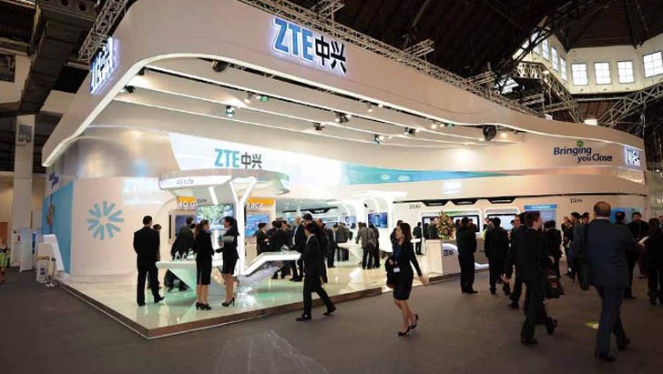 ZTE прекратила производство и отгрузку смартфонов