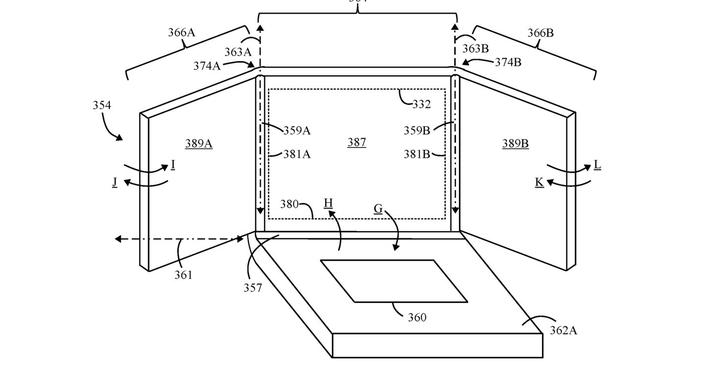 Lenovo запатентовала ноутбук со складывающимся экраном