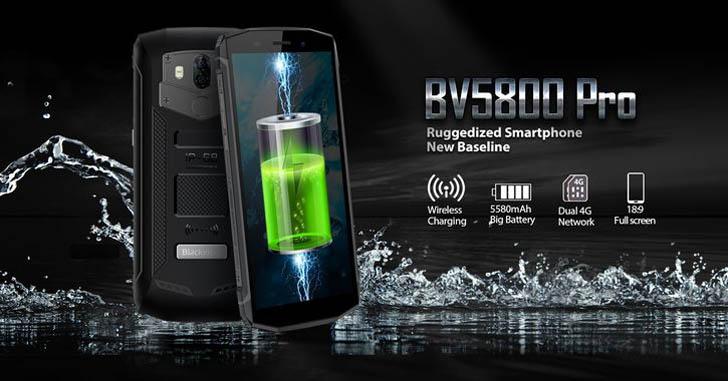 Состоялся анонс защищенного смартфона Blackview BV5800 Pro