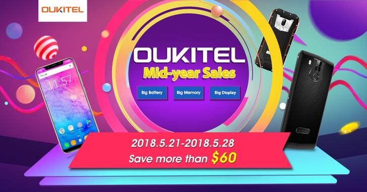 На Banggood продолжается распродажа смартфонов Oukitel