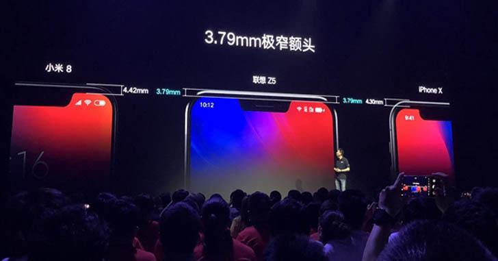 Lenovo Z5 оказался смартфоном среднего уровня