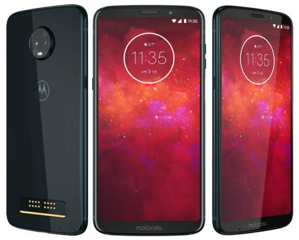 Смартфон Moto Z3 Play получил чип Snapdragon 636 и ценнник в $499