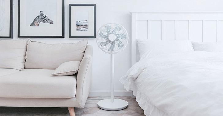 Представлен напольный вентилятор Xiaomi Mijia DC с функцией имитации ветра