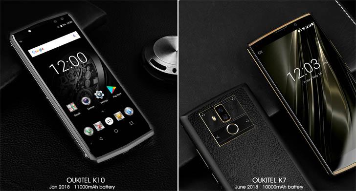 Процесс разборки смартфона-долгожителя Oukitel K7 показали на видео