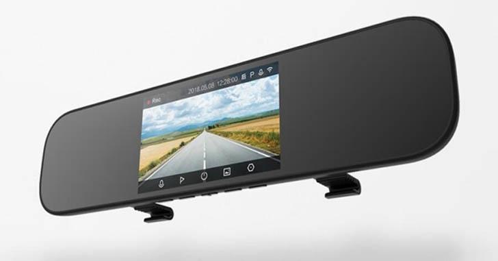 Анонс Xiaomi Mi Rearview Mirror Recorder - автозеркало с регистратором
