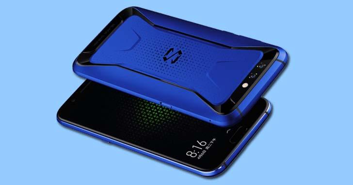Xiaomi выпустила смартфон Black Shark в синем цвете