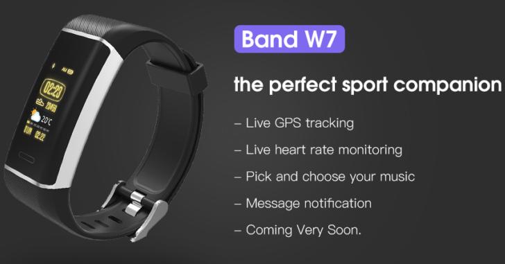Elephone планирует выпустить фитнес-браслет W7