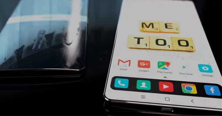 Концепт Xiaomi Mi Mix 3, созданный фанатами, показали на видео