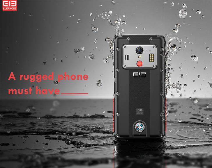 Защищенный Elephone Soldier получит чип Helio X30