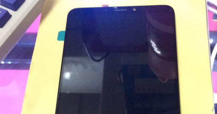 Дисплейный модуль смартфона Xiaomi Mi Max 3 показали на фото