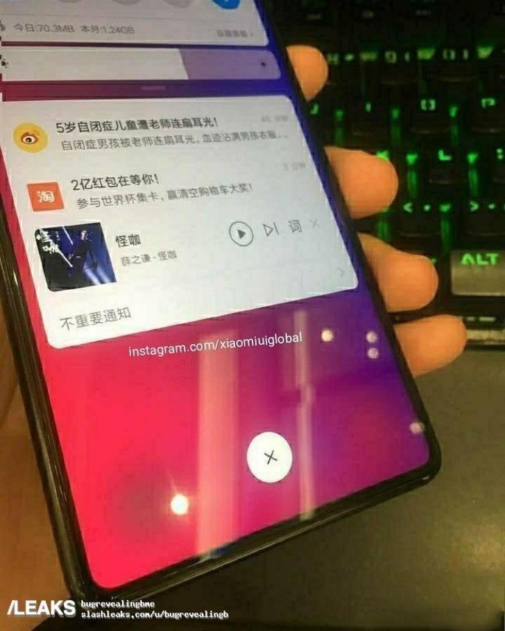 В интернет попали новые фото Xiaomi Mi Mix 3