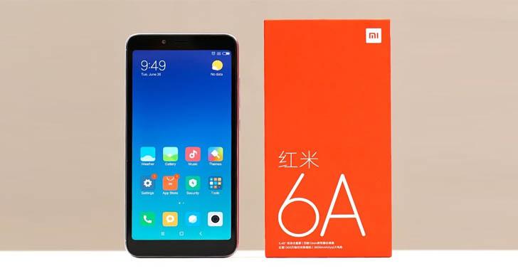 Смартфон Xiaomi Redmi 6A получил вдвое больше памяти