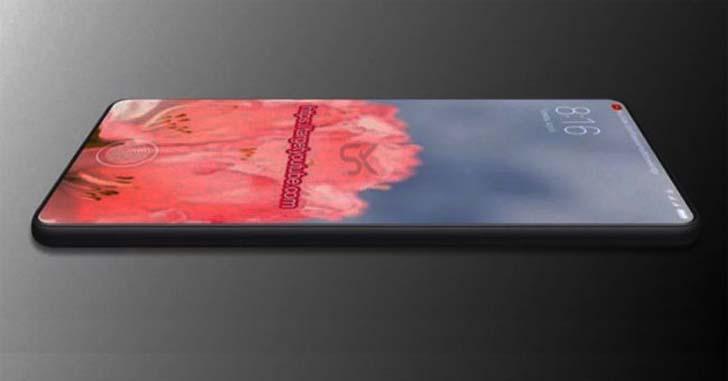 Концепт безрамочного Xiaomi Mi Mix 3 показали на видео