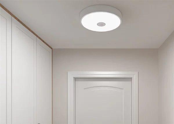 Xiaomi представила автоматический потолочный светильник за $14