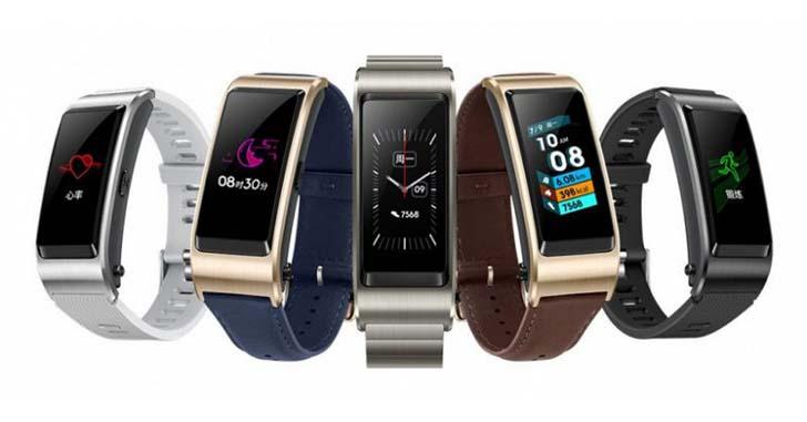 Представлен гибридный смарт-браслет Huawei TalkBand B5