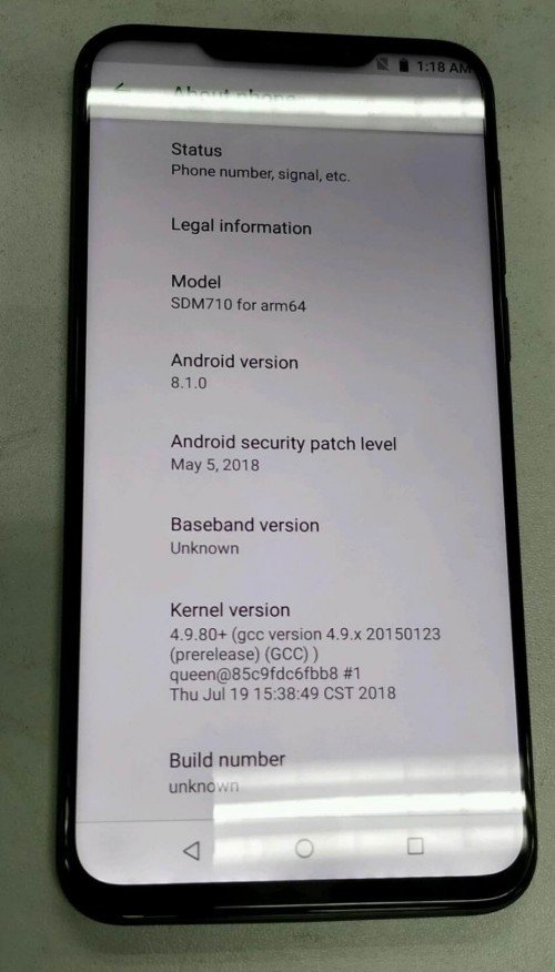 "Еще одно ""живое"" фото смартфона Meizu X8 опубликовали в Сети"