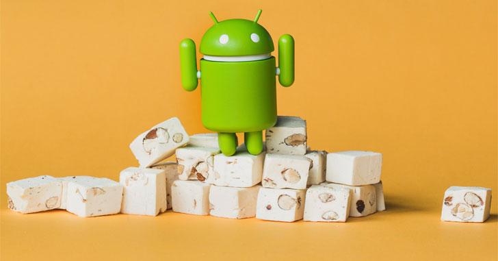 Самой распространенной версией Android остается Nougat