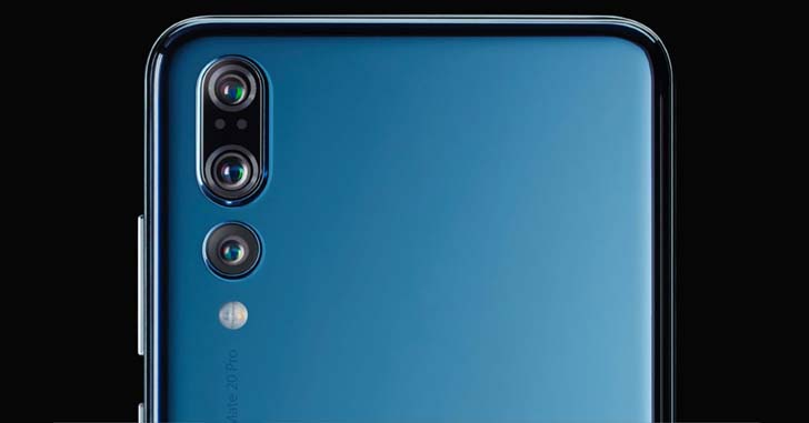 Huawei Mate 20 Pro показали на очередном шпионском фото