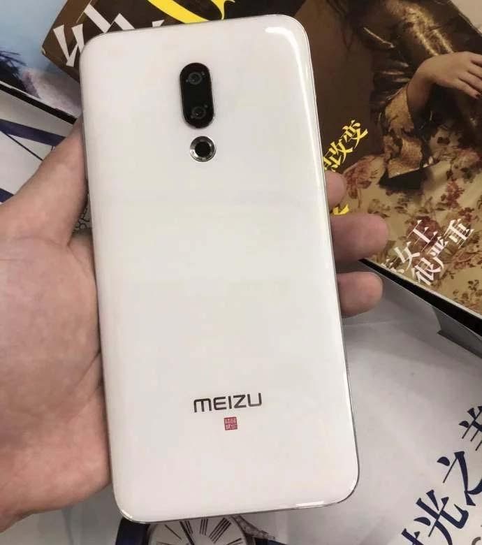 Смартфон Meizu 16 в белом цвете показали на живых фото