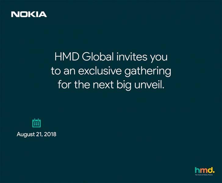Nokia 6.1 Plus официально представят 21 августа