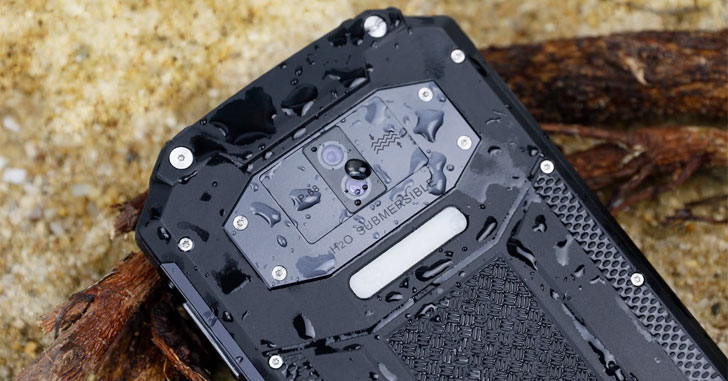 Защищенный Oukitel WP2 оснастили аккумулятором на 10000 мАч