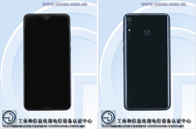 Стали известны характеристики планшетофона Honor 8X (8S)