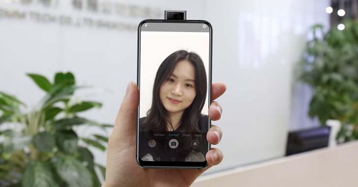 Elephone PX с выдвижной камерой показали на видео