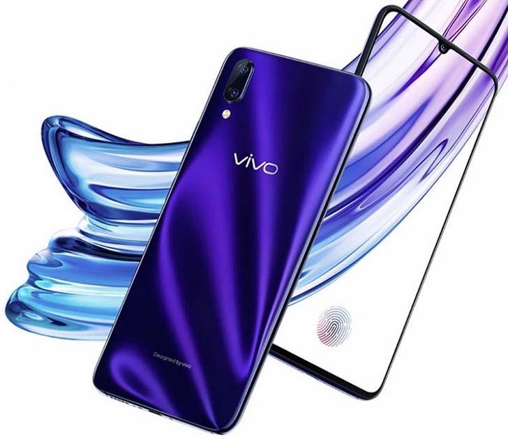 Еще не представленный Vivo X23 показали на официальном видео