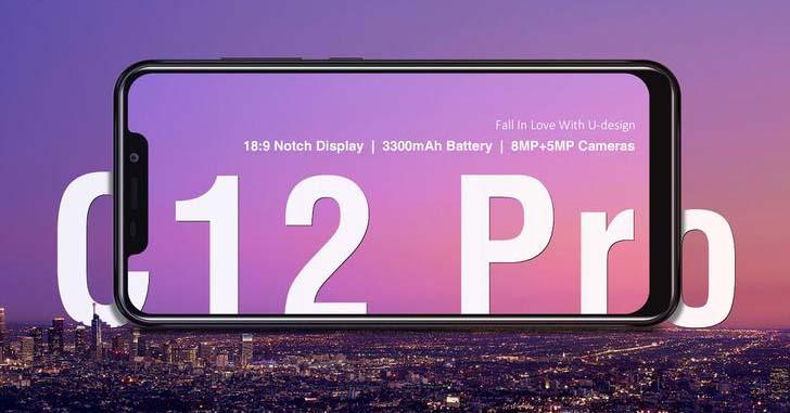 Oukitel C12 Pro получит 6,18-дюймовый дисплей с вырезом