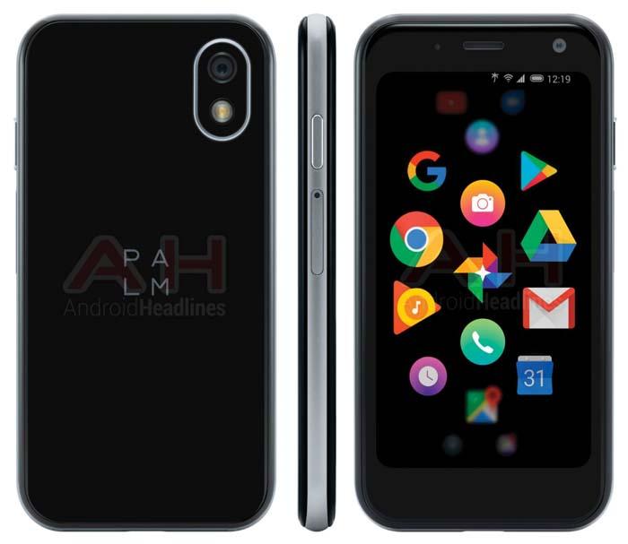 Компактный смартфон Palm Pepito показали на рендерах