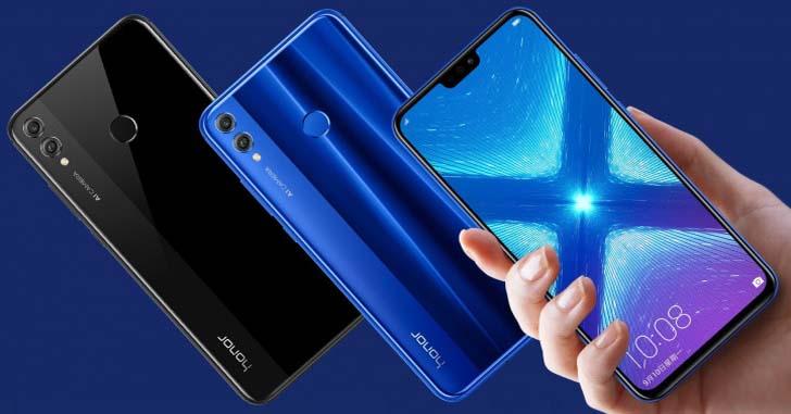 Huawei планирует продать 20 млн смартфонов Honor 8X и 8X Max