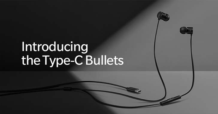 Наушники OnePlus Type-C Bullets оценили в $20