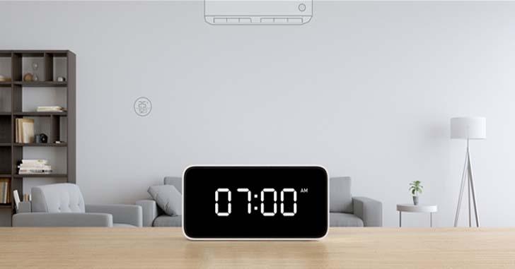 Анонс Xiaomi Xiao AI Smart Alarm Clock - умная колонка-будильник