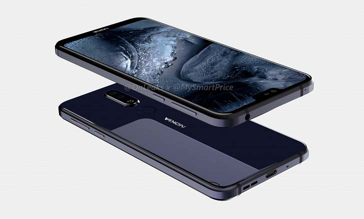Смартфон Nokia X7 показали на качественных рендерах и видео