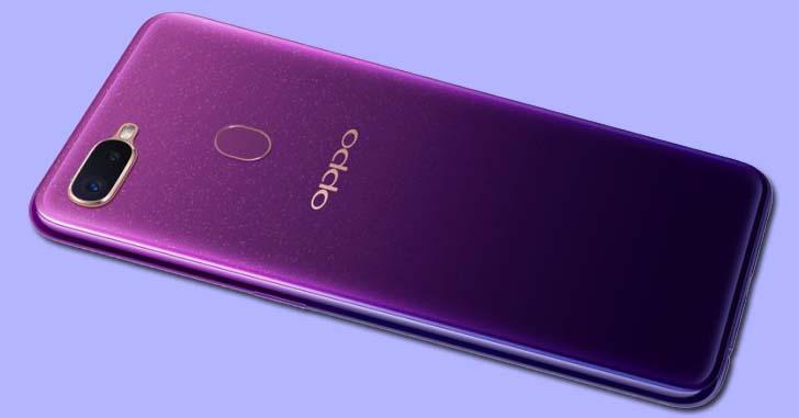 Смартфон Oppo A7 оснастят процессором Qualcomm Snapdragon 450