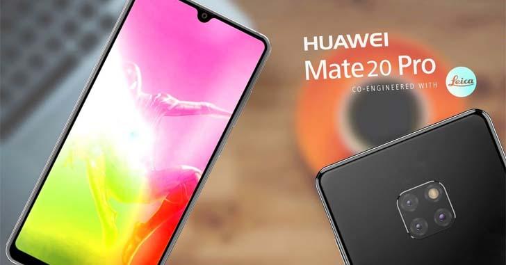 Еще не представленный Huawei Mate 20 показали на видео