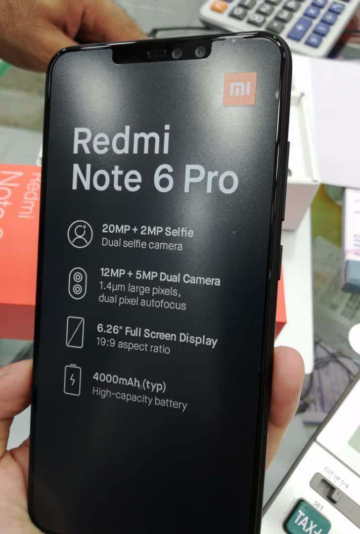 Xiaomi Redmi Note 6 Pro отметился в бенчмарке Geekbench