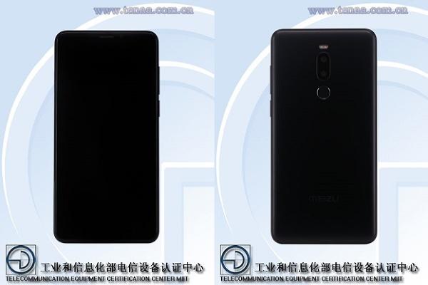 Смартфон Meizu M8 Note появился на сайте агентства TENAA