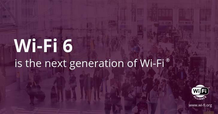Альянс Wi-Fi Alliance представил новый стандарт Wi-Fi 6