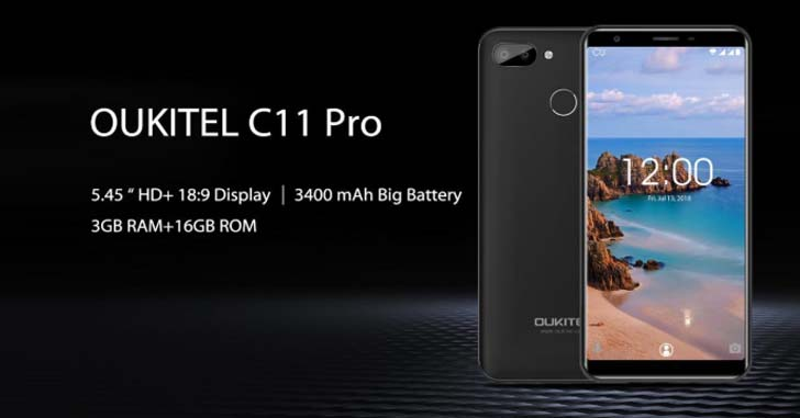 Стали известны характеристики смартфона Oukitel C11 Pro