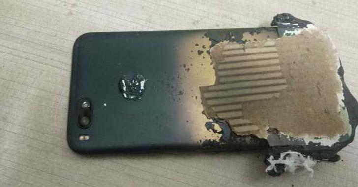 Xiaomi прокомментировала инцидент со взрывом смартфона Mi A1