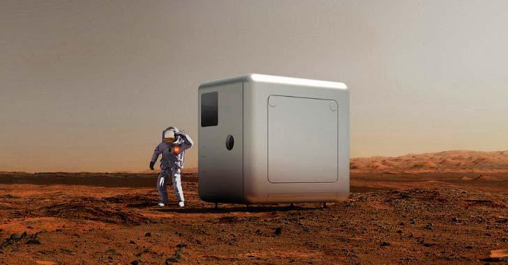 Компания Xiaomi представила жилой модуль для покорения Марса