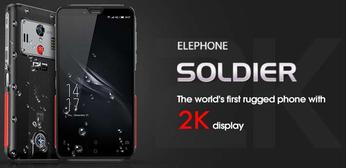 Elephone Soldier за $189,99 и распродажа на Coolicool!
