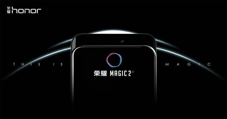 Слайдер Honor Magic 2 продемонстрировали на рекламном видео