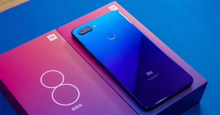 Xiaomi Mi8 Lite выйдет в продажу за пределами Китая 11 ноября